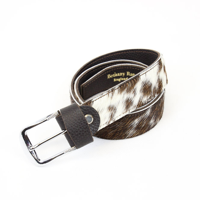 The Blandford Cowhide Belt - Brown