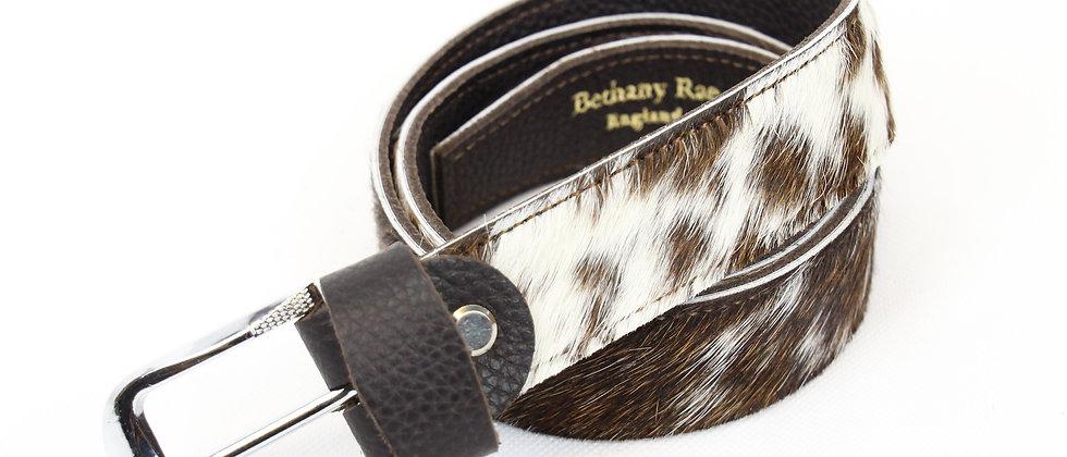 The Blandford Cowhide Belt - Brown