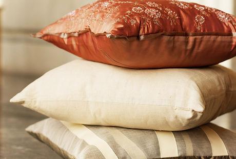cuscini di seta