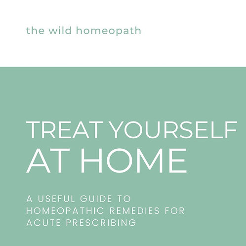 TREAT YOURSELF AT HOME