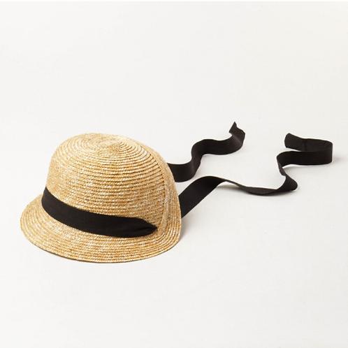 Rosa Straw Bonnet Hat