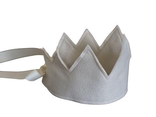 Y'ves Haize Felt Crown - Cream