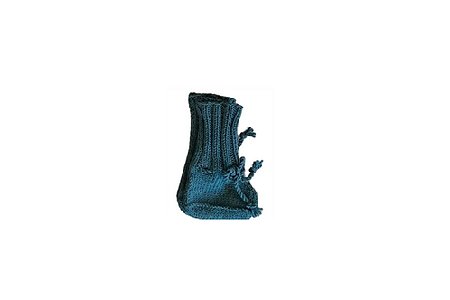 Knitted Boots - Teal