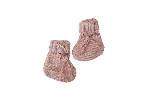 Knitted Boots - Pink