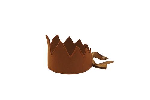 Y'ves Haize Felt Crown - Tan