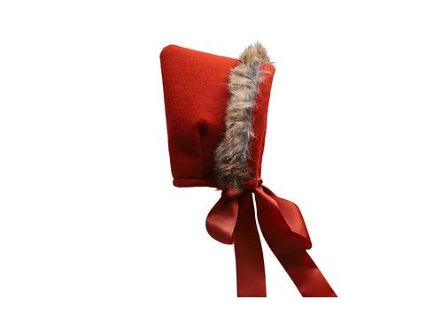 Fur Felt Bonnet x 3
