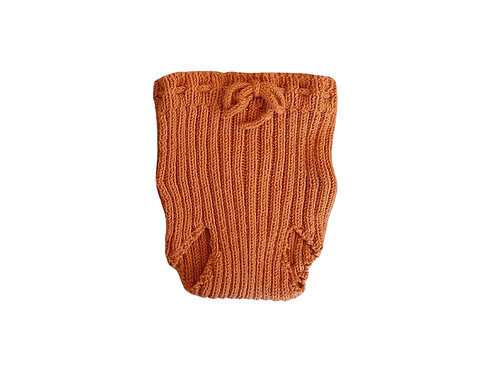 Hand Knitted  Ribbed Pilchers