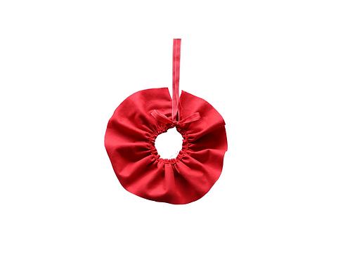 Felt Frill Collar - Red