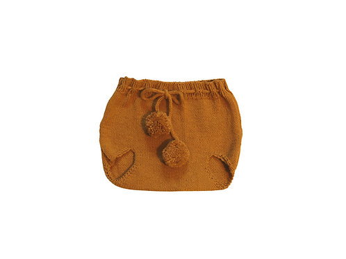 Knitted Pilchers/Bloomers Mustard 6-12mths