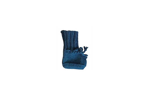 Knitted Boots -Dark Blue
