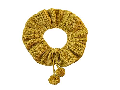 Knitted Collar -Marigold Mustard