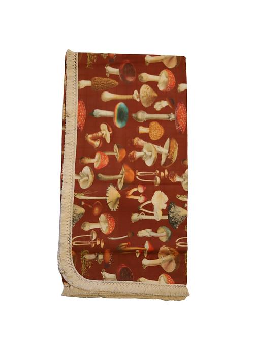 Exclusive Mushroom Muslin Wrap - Ru