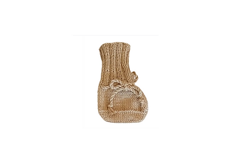Knitted Boots - Camel