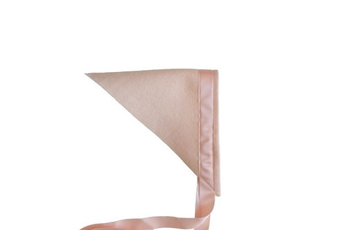 Felt Scarf - Pale Pink