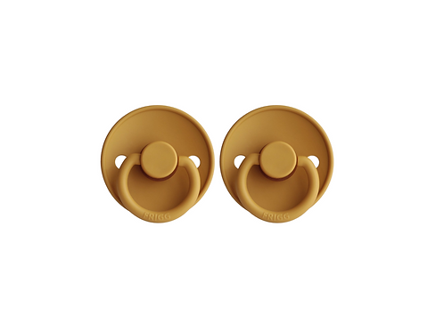 FRIGG Pacifier 2 Pack Classic - Mustard