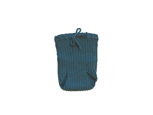 Hand Knitted Teal Bloomers 6-12mths