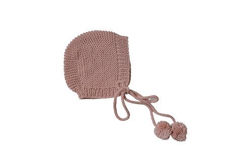 Hand Knitted Bloom Bonnet x 2