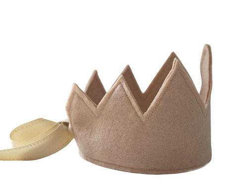 Y'ves Haize Felt Crown - Beige