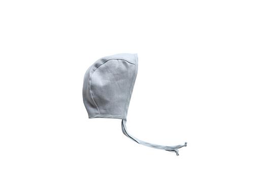 Plain Linen Helmet Bonnet - Bespoke