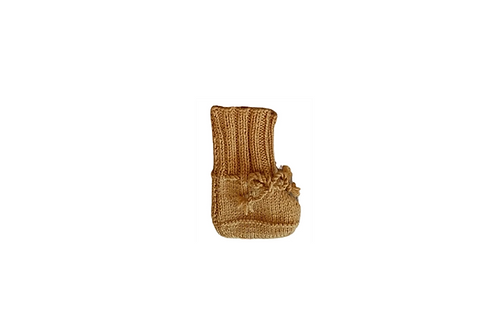 Knitted Boots - Mustard