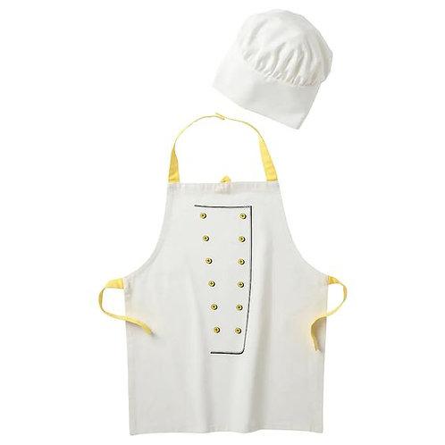 IKEA Childrens Chef Apron & Hat Set