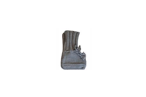 Knitted Boots - Dark Grey