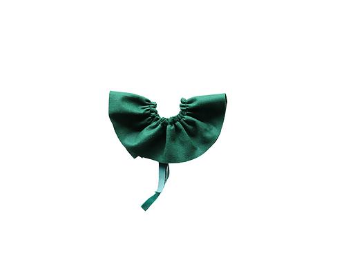 Felt Frill Collar - Forest Green