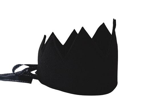Y'ves Haize Felt Crown - Black