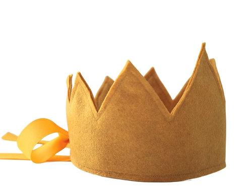 Y'ves Haize Felt Crown - Mustard