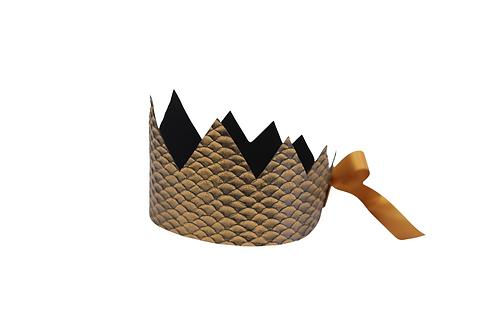 Y'ves Haize Bronze Scale Crown x 2