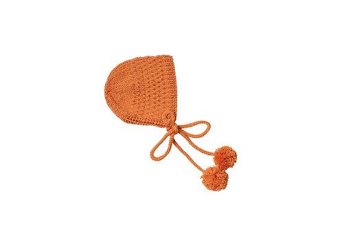 Hand Knitted Belle Bonnet x 2