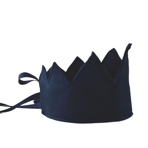 Y'ves Haize Felt Crown - Navy
