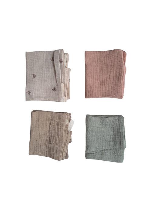 Face Cloth/Burp Cloth Muslin