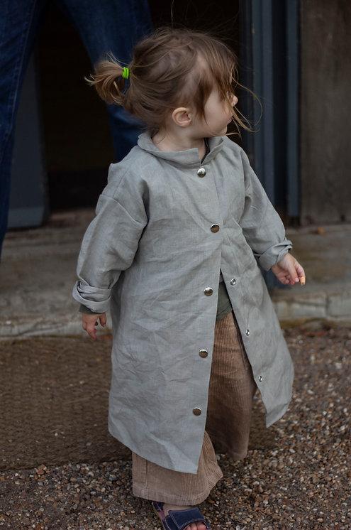Mini-Me Dress Light Grey