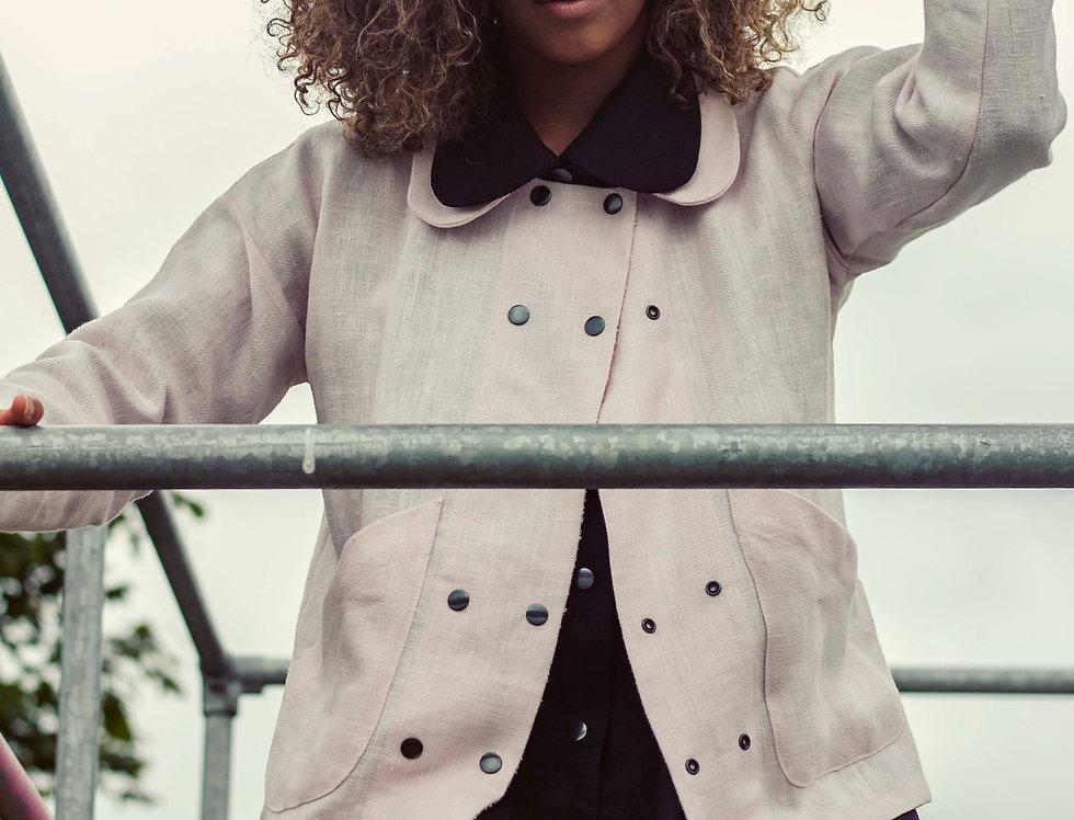 Double B 100% Linen Jacket
