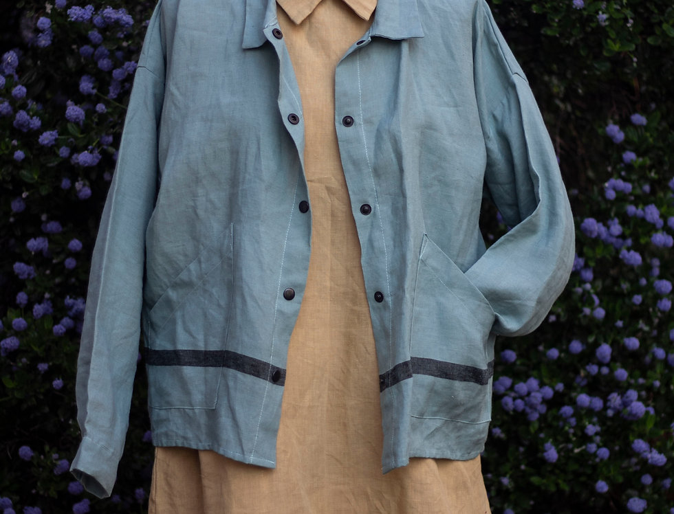 100% Linen Jacket Sample