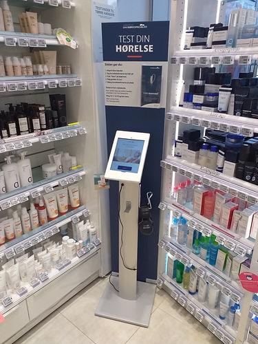 Høretest-scanner på apotek