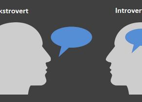 Introverte og ekstroverte på arbejdspladsen - hvad bør vi gøre?