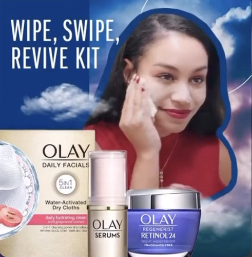 Olay's Face Anything Campaign