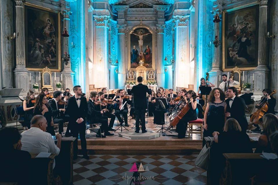 Festival estivo e orchestra