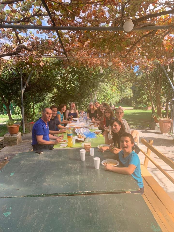 La cucina greca nel villaggio Hellenikon