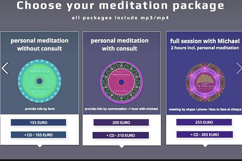 nilaaya personalised meditations & affirmations