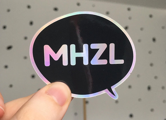 Holographic Vinyl Sticker - MHZL
