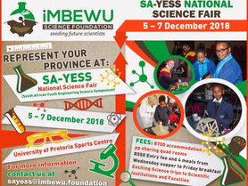 South African Youth Engineering and Science Symposium (SAYESS) 2018 is coming!