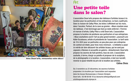 article Les RENNAIS N°25 nov/déc