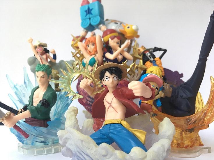 One Piece Figure Scene