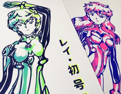 Asuka-Langley-Rei-Ayanami-EVA