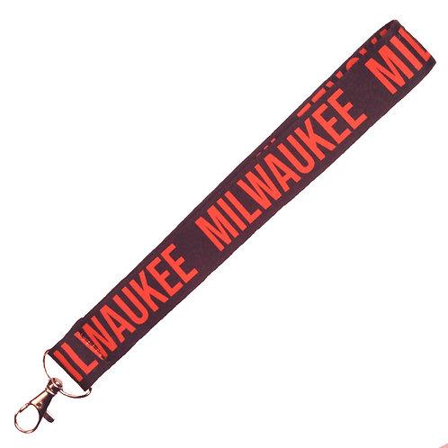 """Milwaukee"" Wrist Lanyard"