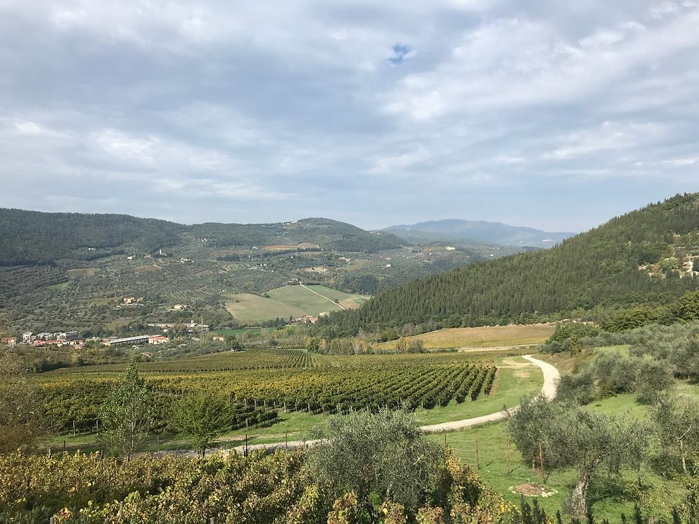 Die Weiten der Toskana