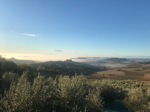 Blick über das Piemont
